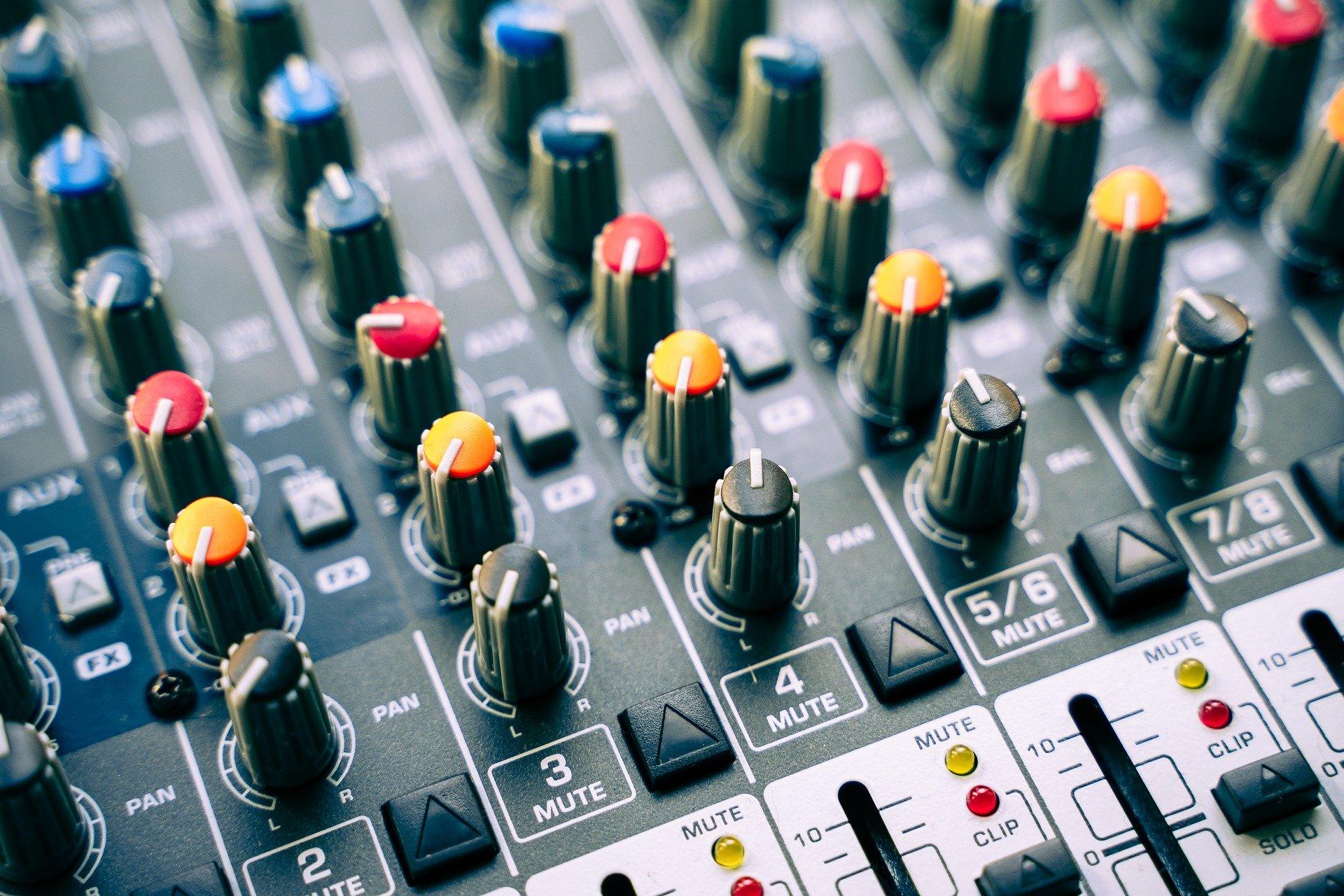 table de mixage pour des instru rap lourd